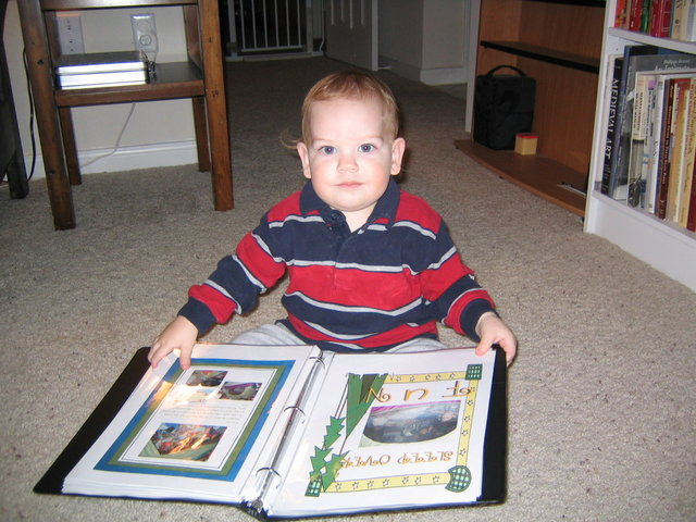 Matthew looks at his cousins 3